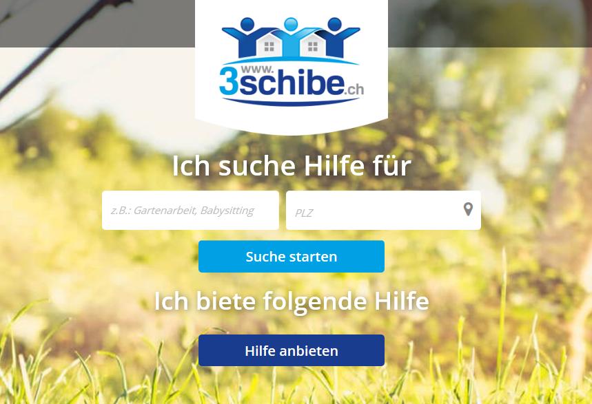 www.3schibe.ch ist erfolgreich gestartet